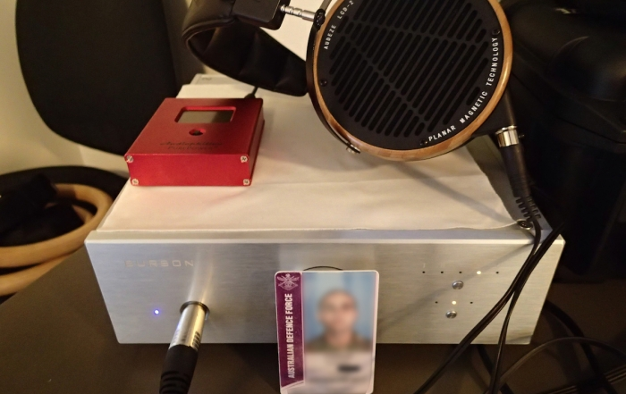 Burson Conductor customer feedback by Michael H with LCD2