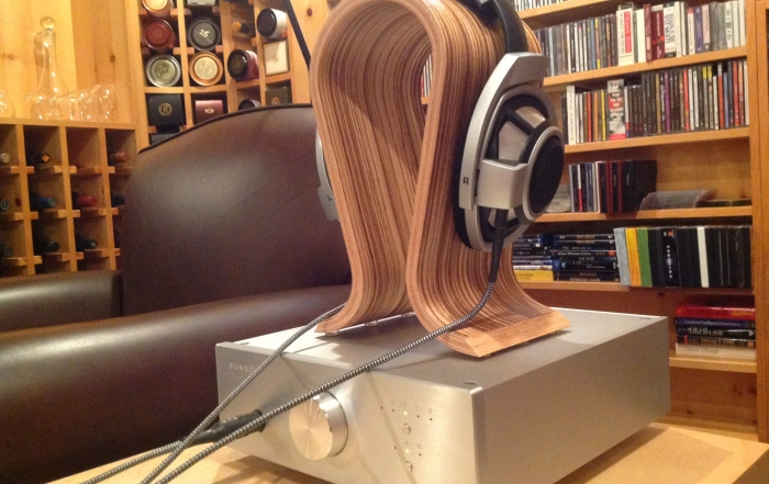 Burson conductor headphone amplifier USB DAC with Sennheiser HD800 feedback by Steve A.